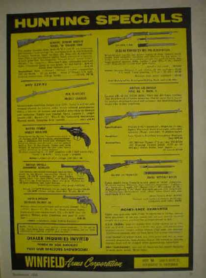 Marlin High Powered Rifle Les Bowman (1956)