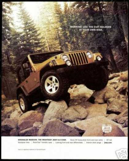 2003 Jeep Wrangler Rubicon Photo (2002)