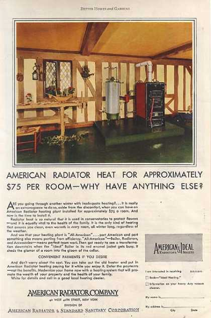 American Radiator Company's Heating Plants (1930)