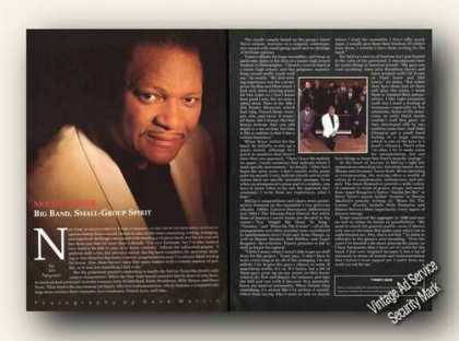 Mccoy Tyner Picture & Article Print Feature (1994)