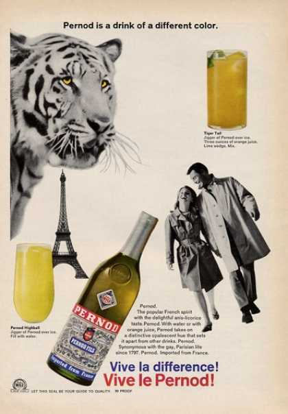 Pernod Popular French Spirit (1965)