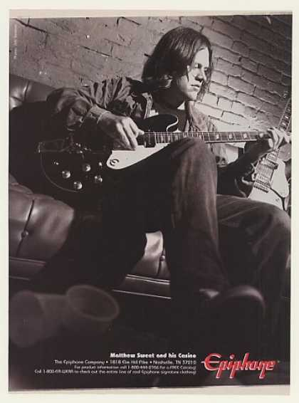 '96 Matthew Sweet Epiphone Casino Guitar Photo (1996)