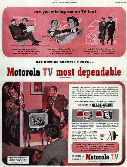 Motorola's Television – Are you missing out on TV fun? (1951)