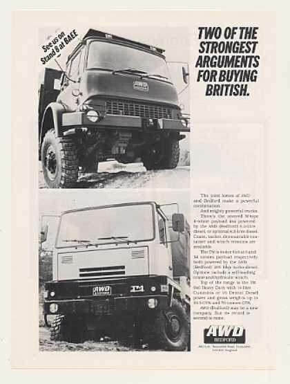 AWD Bedford M-type TM 4x4 Trucks Photo (1988)