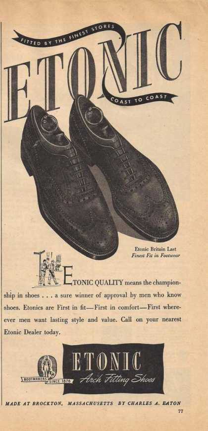 Etonic Arch Mens Fitting Shoes (1947)