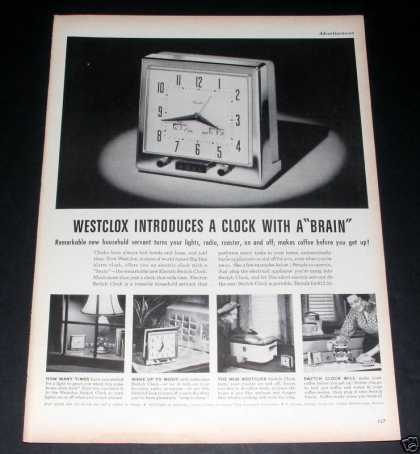 Westclock, Clock With a Brain, Exc (1949)