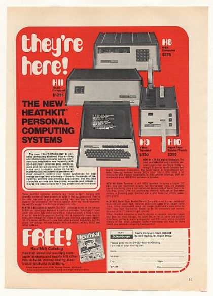 Heathkit H8 H9 H10 H11 Personal Computers (1977)