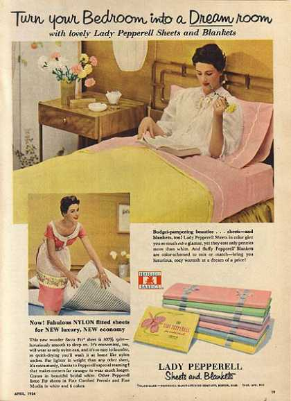 Lady Pepperell's Sheets and Blankets (1954)