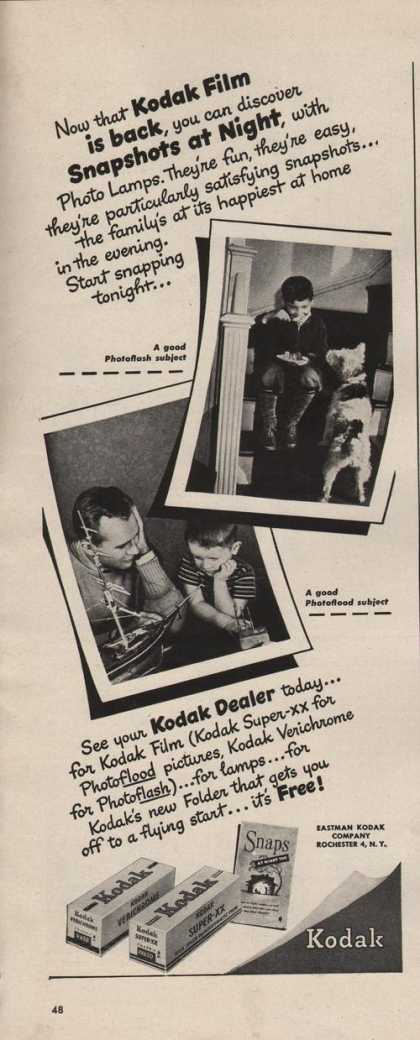 Kodak Snapshots at Film (1942)