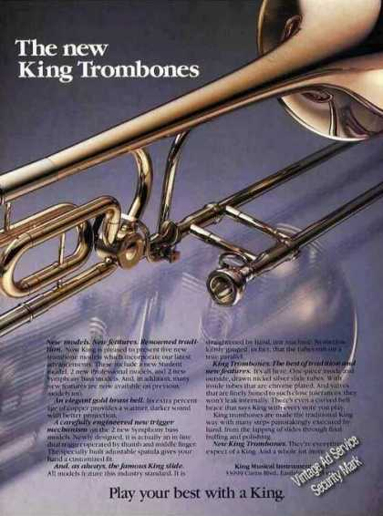 King Trombones Nice Glamour Photo (1981)