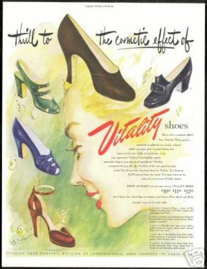 Womans Vitality Fashion Shoes McCullough Art (1948)