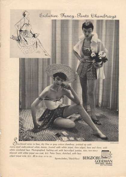 Bergdorf Goodman Chambray (1950)