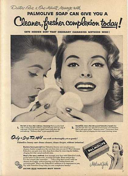 Palmolive's Mild and Gentle Soap (1956)