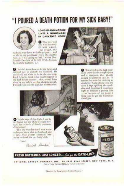 Eveready Battery – Long Island Nightmare Story (1938)