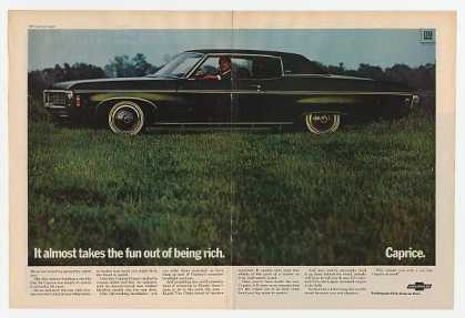 Chevy Caprice Coupe Takes Fun Out of Being Rich (1969)