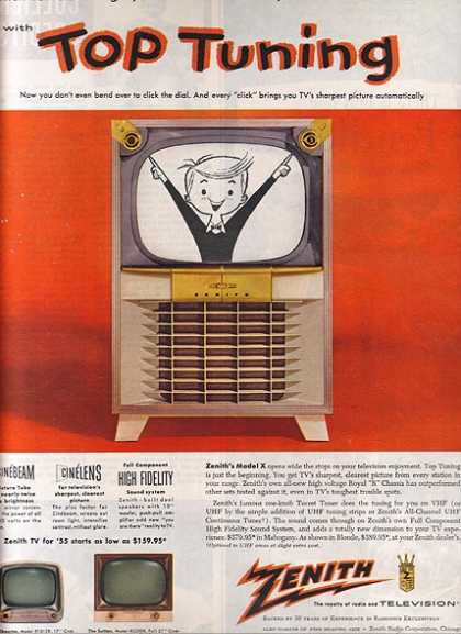 Zenith's Top Tuning (1954)