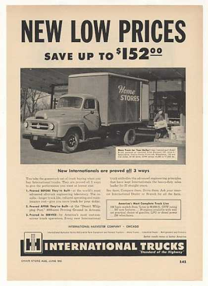 Home Stores International Harvester R-160 Truck (1953)