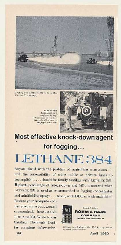 Rohm & Haas Lethane 384 Mosquito Fogging (1960)