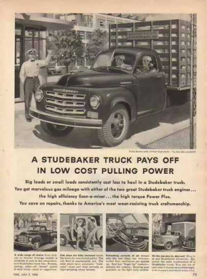 Studebaker Truck – Two Ton (1952)