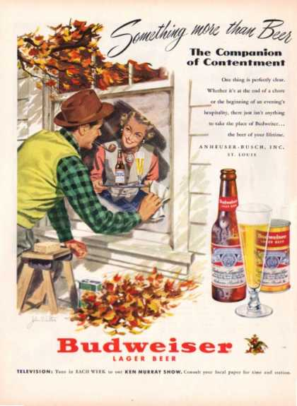 '51 Budweiser Beer Window Washer John Walter (1951)