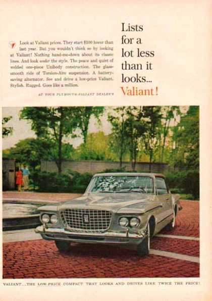 Plymouth Car – Silver Valiant – Sold (1961)
