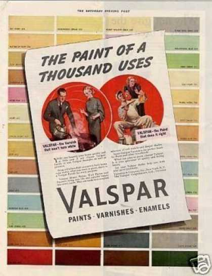 Valentine's Valspar Varnish Color (1939)