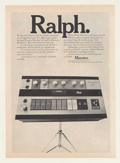 Maestro Rhythm 'n Sound for Guitars G-2 Ralph (1970)