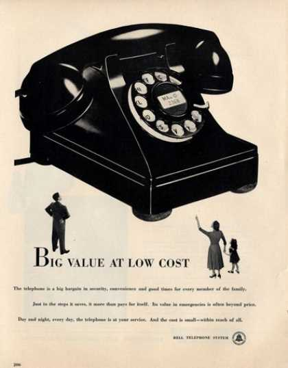 Telephone Phone Rotorary Dail (1950)
