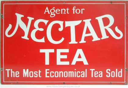 Agent for Nectar Tea Sign