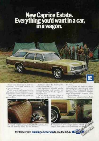 Chevrolet Caprice Estate Wagon Photos (1973)