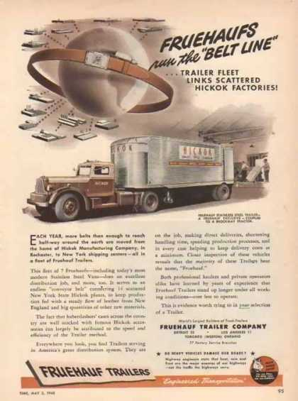 Fruehauf Trailers – Hickok Leather Company – Sold (1948)