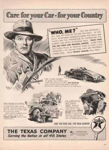 Texaco Dealer Care for Your Car (1942)