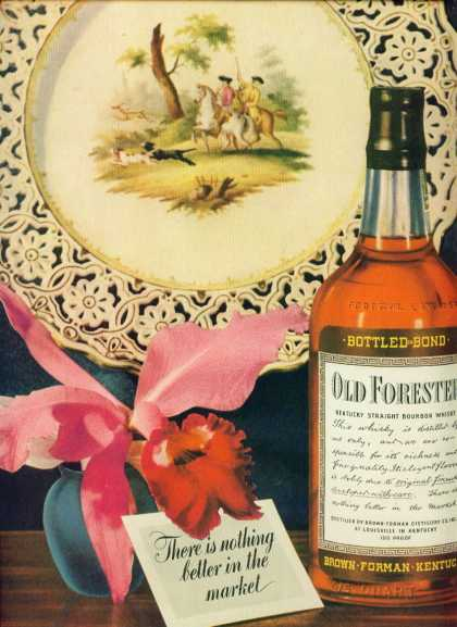 Old Forester Kentucky Straight Bourbon Whiskey C (1943)