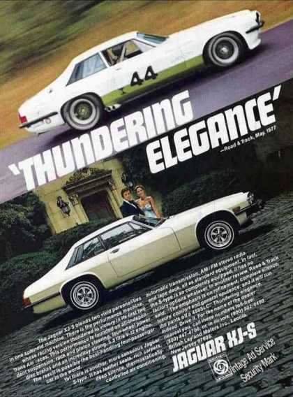 "Jaguar Xj-s Photos ""Thundering Elegance"" Car (1978)"