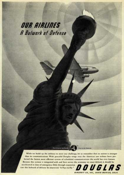 Douglas Aircraft Company – Our Airlines, A Bulwark of Defense (1940)