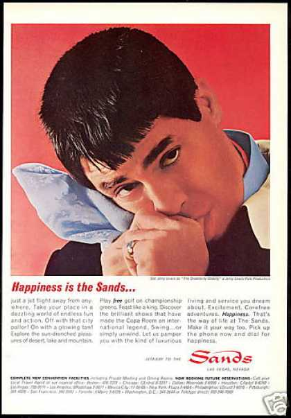 Jerry Lewis Photo Las Vegas Sands Hotel Casino (1965)