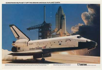 Columbia Space Shuttle Sundstrand (1983)
