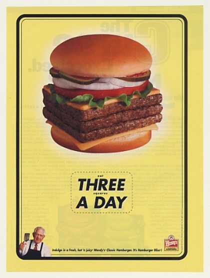 Wendy's Hamburger Three A Day Restaurant (2000)