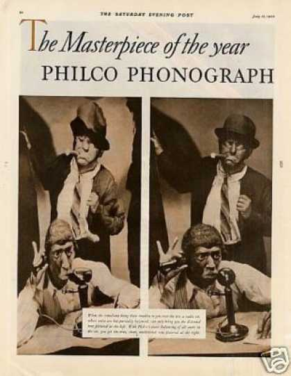 Philco Radio-phonograp (1930)