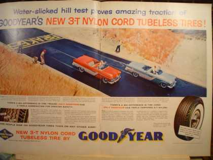 Goodyear 2 pg Tubeless tires (1955)