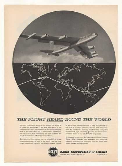 USAF B-52 Bomber World Flight RCA Communication (1957)