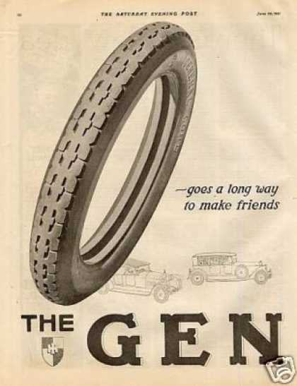 General Tire Ad 2 Page (1921)