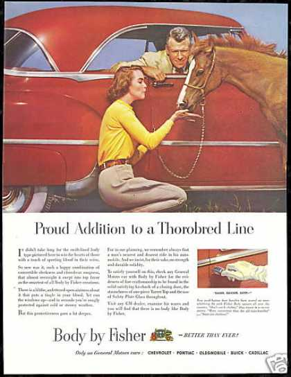 General Motors Car Body By Fisher Horse Colt (1950)