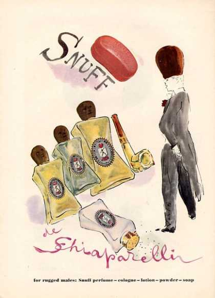 Schiraparelli Snuff Perfume Art (1949)