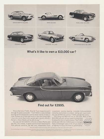 Volvo P1800 $10,000 Car for $3995 (1963)