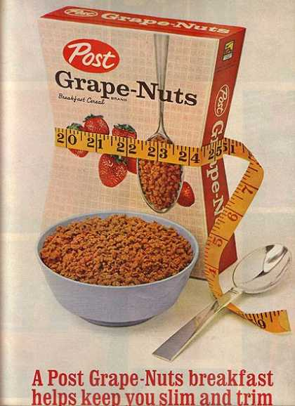 Post's Grape-Nuts Cereal (1962)