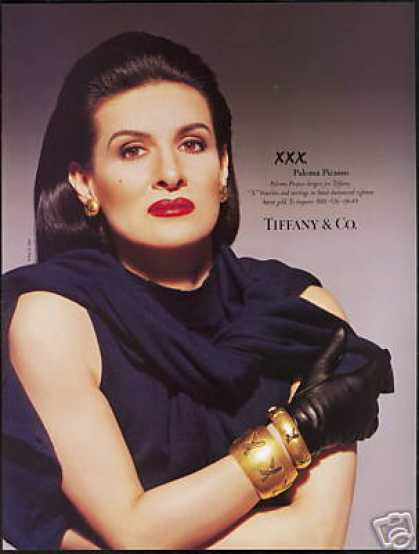 Paloma Picasso X Bracelet Earrings Tiffany & Co (1991)