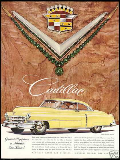 Cadillac 2 Door Car Harry Winston Jewels (1951)