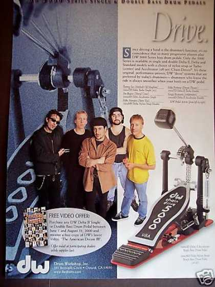 Top Rock Drummers Dw 5000 Drum Pedal Photo (2000)