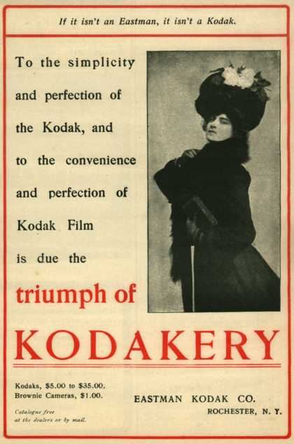 Kodak – Triumph of Kodakery (1901)